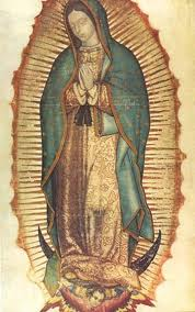 manto Virgen de Guadalupe