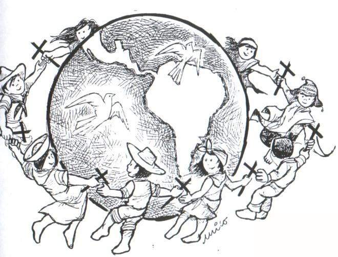 el mundo unido en oración
